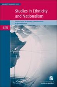 studies in ethnicity and nationalism journal