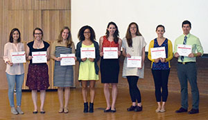 student research day winners